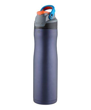 Matte Midnight Blue Brazos Stainless Steel 24-Oz. Water Bottle