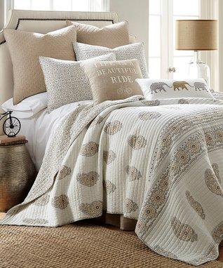Beige Skylar Bed Set