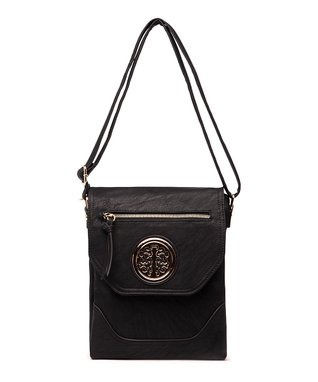 MKF Collection Black Antoinette Shoulder Bag