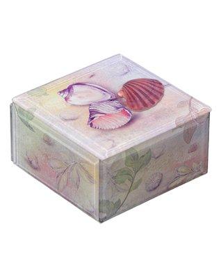 Seashells Glass Music Box