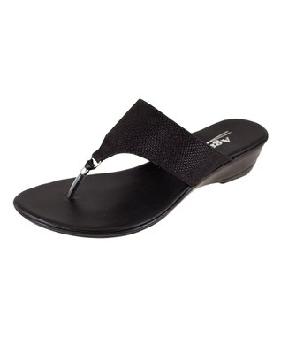 Agape Black Hill Sandal