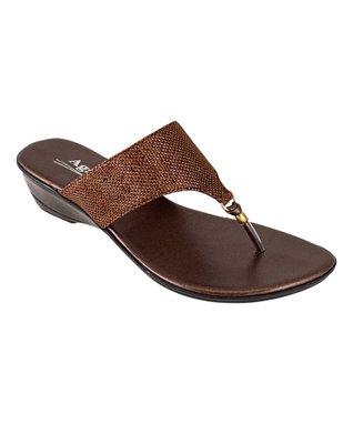 Agape Bronze Hill Sandal