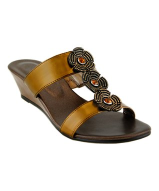 Agape Black Leopard Wic Sandal