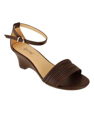 Lena Luisa Chocolate Lace DSW Sandal