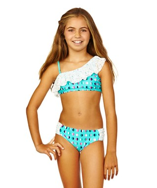 Cayman Waters Half Moon Bikini - Girls