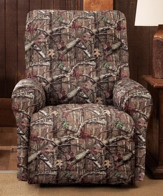 Mossy Oak Four-Piece Recliner Slipcover