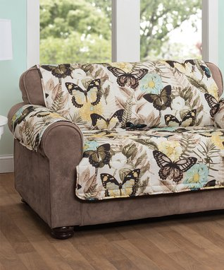 Butterfly Love Seat Protector
