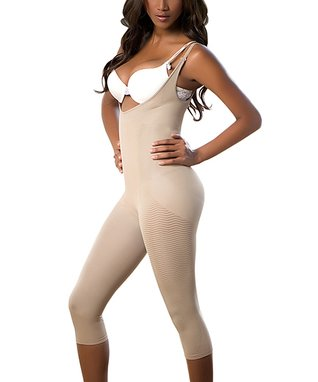 Nude Long Full-Body Massage Caffeine Pants - Women
