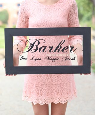 Modern Family Personalized Sign