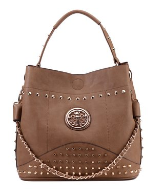 MKF Collection Coffee Milly Crossbody Bag