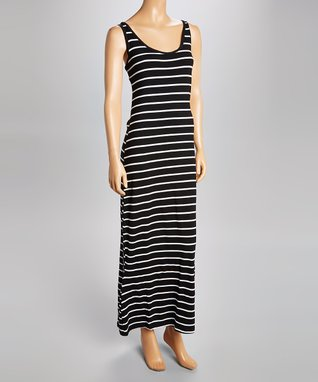 Heart & Hips Mint & White Stripe Maxi Dress - Women