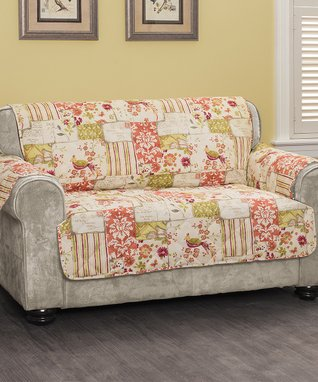 Patchwork Love Seat Protector
