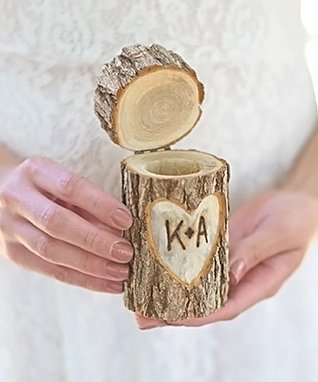 Unfinished Custom Wood Monogram Charm