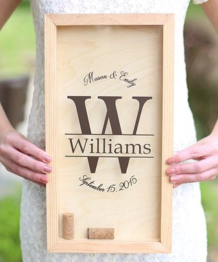 Personalized Large Cork Keeper
