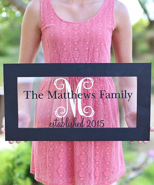 Personalized Family Wall Sign