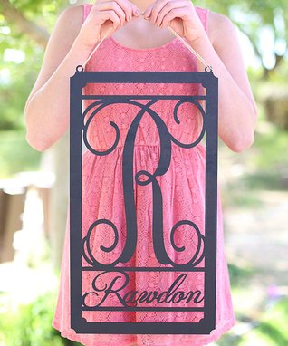 Personalized Unfinished Wood Garden Flag