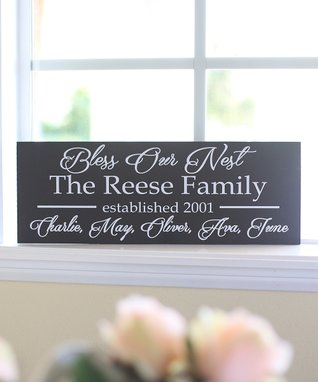Family Personalized Wall Sign