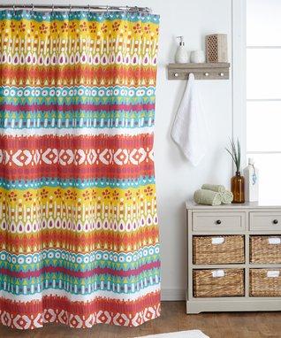 Aruba Bright Shower Curtain