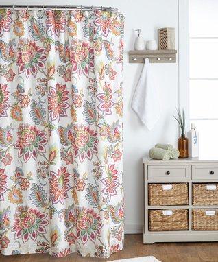 Palladium Coral Shower Curtain