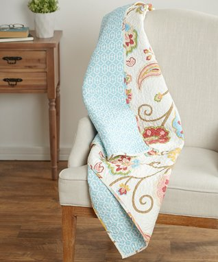 Ashbury Quilted Throw