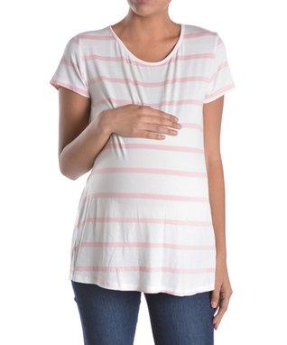 Oh! Mamma Rinse Supersoft Over-Belly Denim Maternity Bermuda Shorts - Women