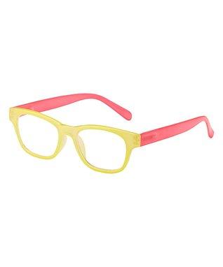 Yellow & Pink Sorbet Eye Candy Reader