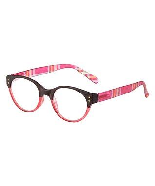 Pink & Black Ricki Eye Candy Reader