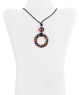 Red & Black Paris Eye Catchers Eyeglass Necklace