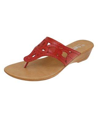 Agape Red Hamilton Sandal