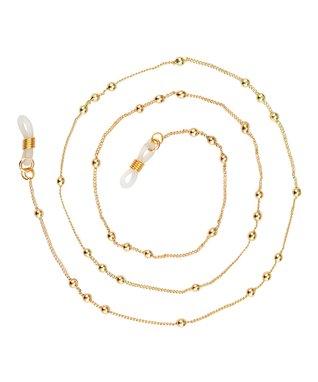 Purple Amethyst Eyeglass Chain Necklace