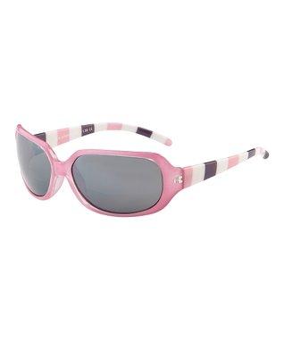 Pink Stripe Bifocal Sunglasses