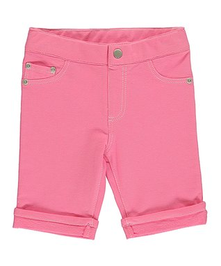 Pink Sherbert Knit Shorts - Infant & Toddler