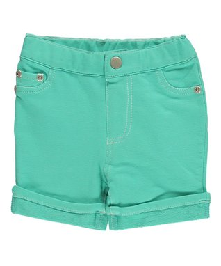 Bright Opal Cuff Knit Shorts - Infant