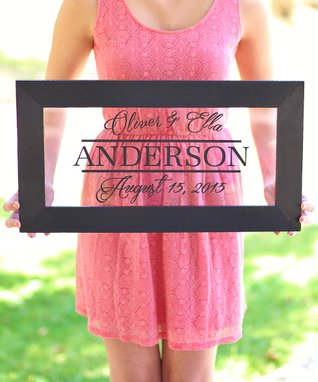 Newlywed Personalized Sign
