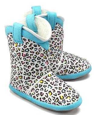 Cicciabella Skittlez Cowgirl Slipper Boot
