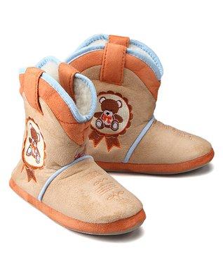 Cicciabella Vintage Bear Slipper Boot