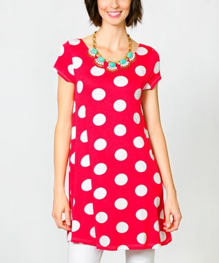 Sawyer Cove Hot Pink Polly Dress