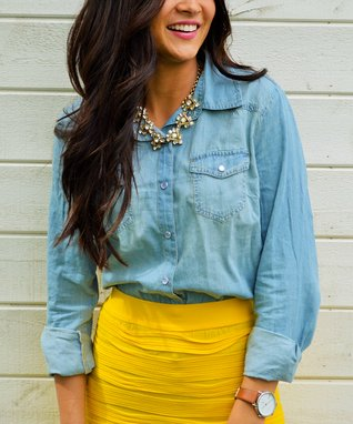 Bella Mikol Designs Chambray Button-Up