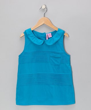 Apollo Pink & Green Geometric Hi-Low Dress
