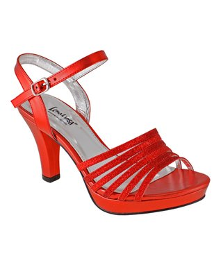 Lena Luisa Red Lace DSW Sandal