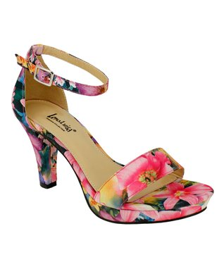 Lena Luisa Fuchsia Floral DSW Sandal