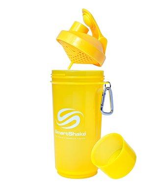 Neon Blue Smart Shake Slim 17-Oz. Water Bottle