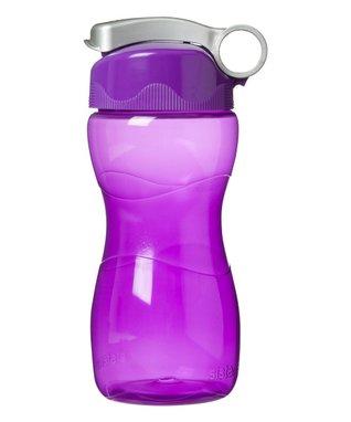Purple Hourglass 16-Oz. Water Bottle