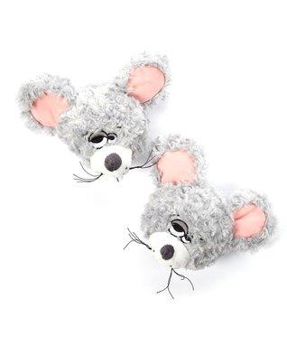 Groggadooz Gray Gouda the Mouse Slipper Head