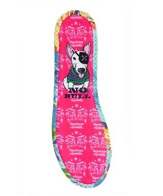 TigerBear Republik Pink 'No Bull' Cushies Footbed