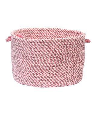 Pinkest Pink Twisted Utility Basket