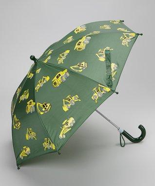 Foxfire Green Construction Umbrella