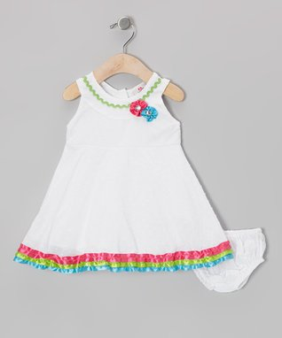 2B Real Pink Swing Dress & Diaper Cover - Infant