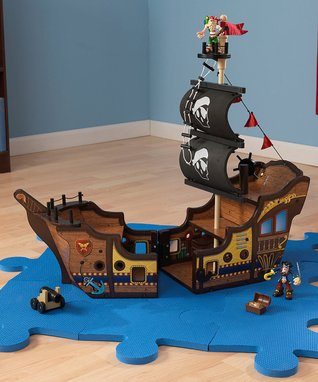 KidKraft Pirate Ship Toy Set