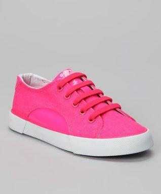 Gotta Flurt Neon Pink Sunrise Sneaker